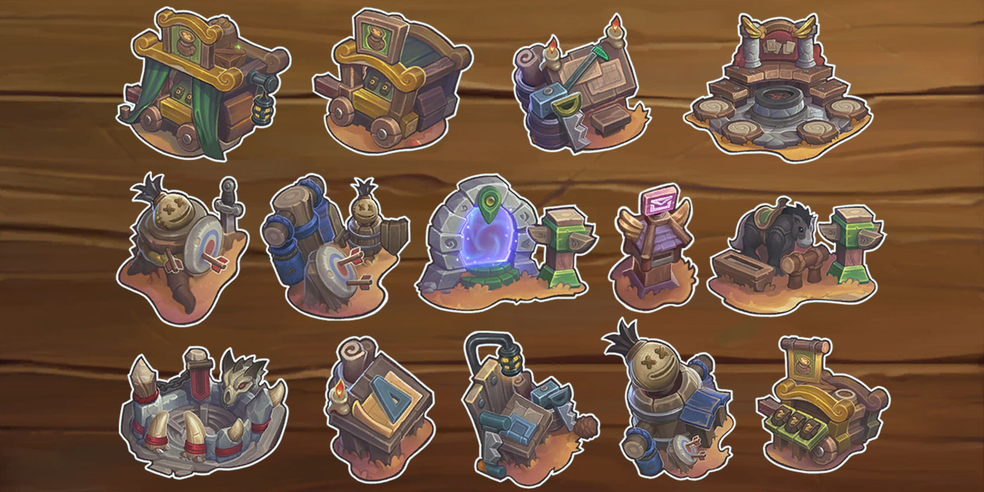 How Expensive Are Hearthstone's Mercenaries Buildings? Includes the New Training Grounds Building