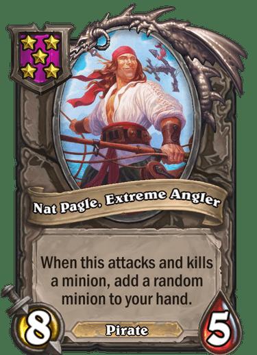 Nat Pagle, Extreme Angler Card Image