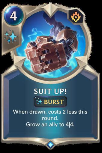 Suit Up! Card Image