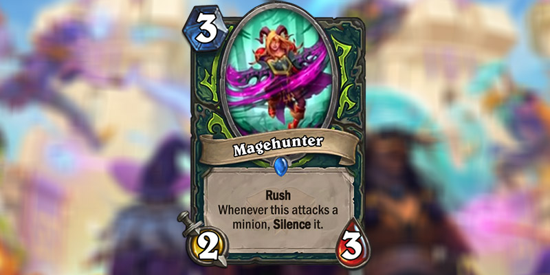 Magehunter is a New Demon Hunter Card Revealed for Hearthstone's Scholomance Academy Expansion