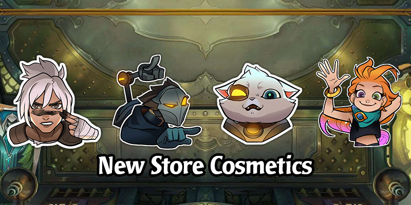 New Store Cosmetics Coming in Runeterra's Cosmic Creation Expansion Patch