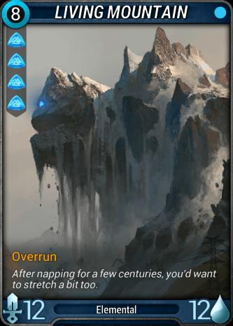 Living Mountain Card Image