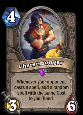 Cheesemonger Card Image