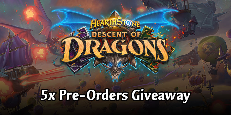 Descent of Dragons Pre-Order Giveaway w/ Battlegrounds Early Access