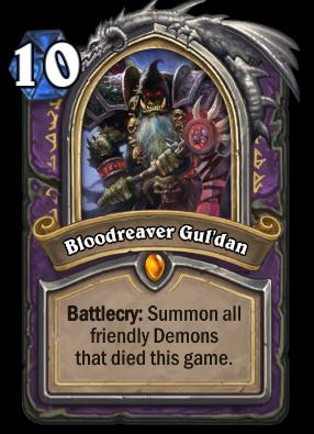 Bloodreaver Gul'dan Card Image