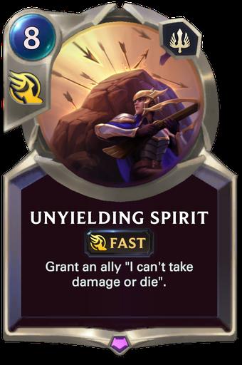 Unyielding Spirit Card Image