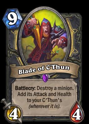 Blade of C'Thun Card Image