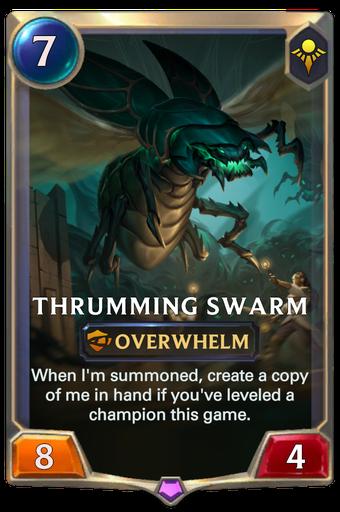 Thrumming Swarm Card Image