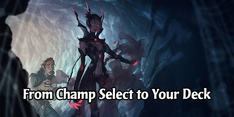 From Champ Select to Your Deck: Insight on Legends of Runeterra Champion Development