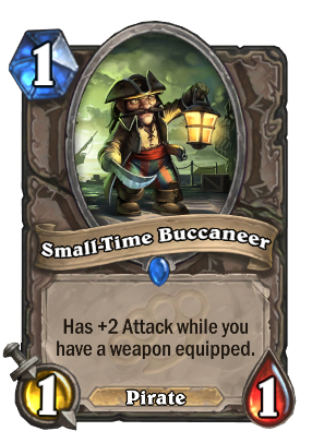 (1) Small-time Buccaneer
