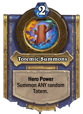 Totemic Summons Card Image