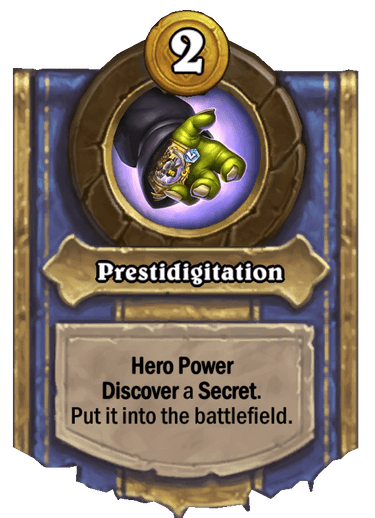 Prestidigitation Card Image