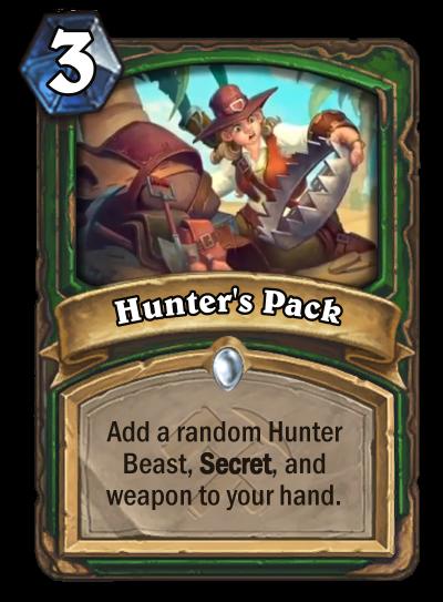 Hunter's Pack Card Image