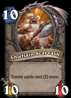 Chieftain Scarvash Card Image