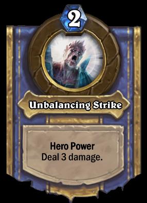 Unbalancing Strike Card Image