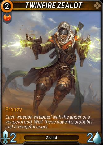 Twinfire Zealot Card Image