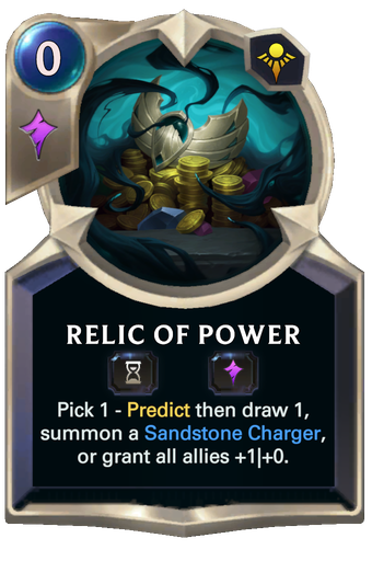 Relic of Power Card Image