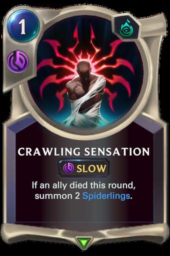 Crawling Sensation Card Image
