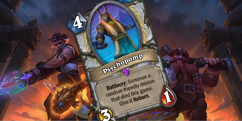 Priest Uldum Card Reveal - Psychopomp
