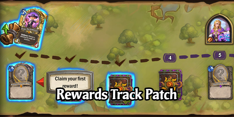 Hearthstone Rewards Track Patch - Client Updated to Removed End of Track Pack Rewards, Replaced with Gold