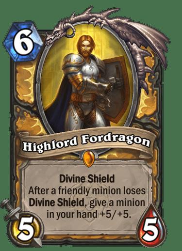 Highlord Fordragon Card Image