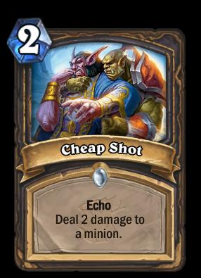 Cheap Shot Card Image