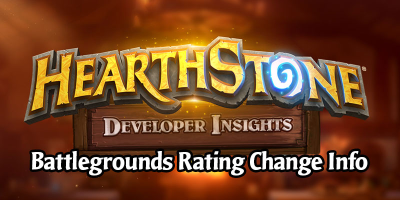 Hearthstone Developer Insights - The Battlegrounds Rating System Update