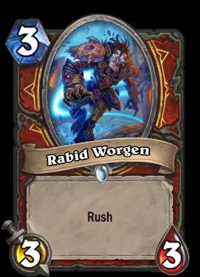 Rabid Worgen Card Image