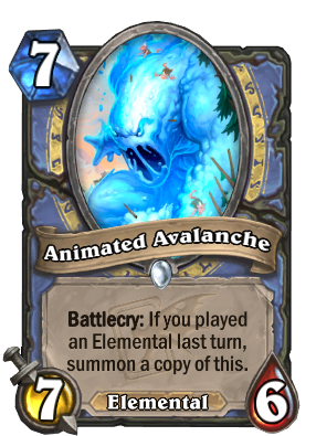 Animated Avalanche Card Image