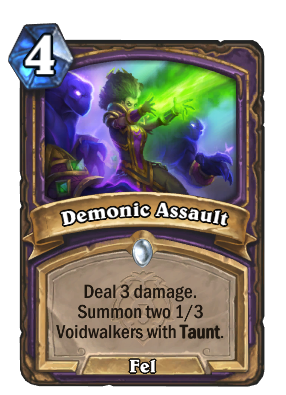 Demonic Assault Card Image