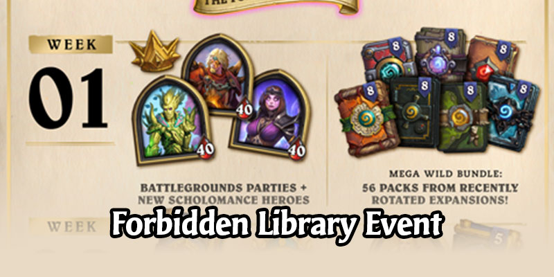 The Forbidden Library - Hearthstone Gets a Scholomance Academy Event for September 2020