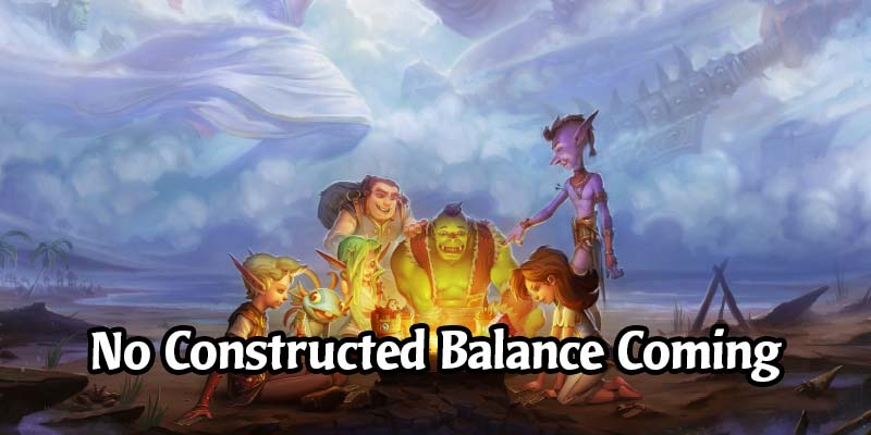 "Blizzard Confirms no Standard or Wild Hearthstone Balance Changes Before the Next Expansion - ""Meta Looks and Feels Fun"""