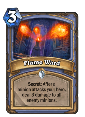 Flame Ward Card Image