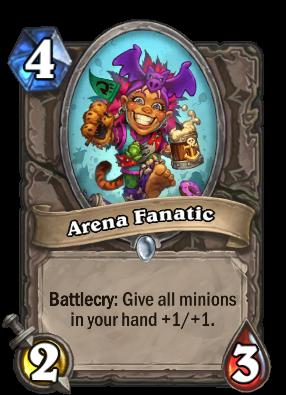 Arena Fanatic Card Image