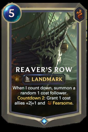 Reaver's Row Card Image