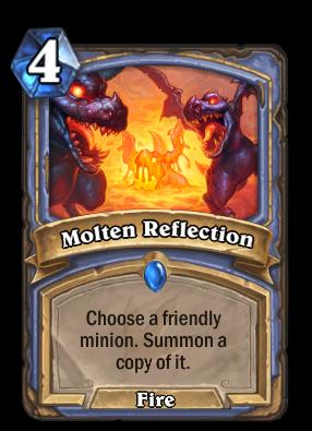 Molten Reflection Card Image