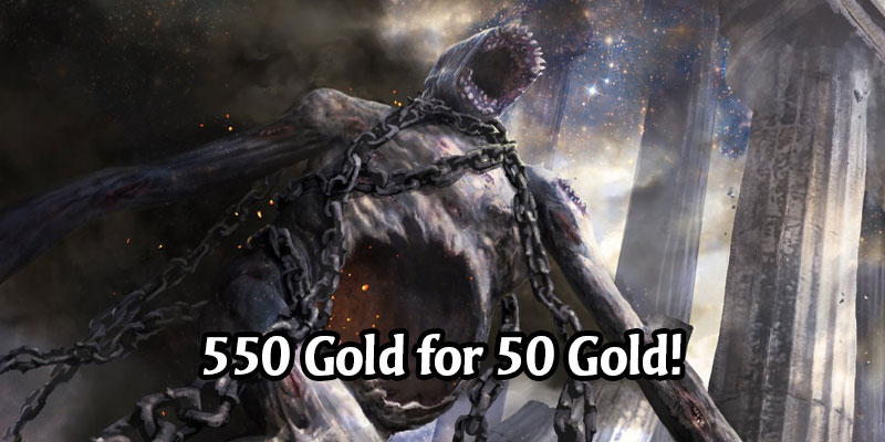 Get Yourself 550 Gold Today on MTG Arena for 50 Gold! Daily Deals for May 13, 2020