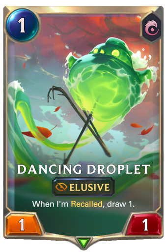 Dancing Droplet Card Image