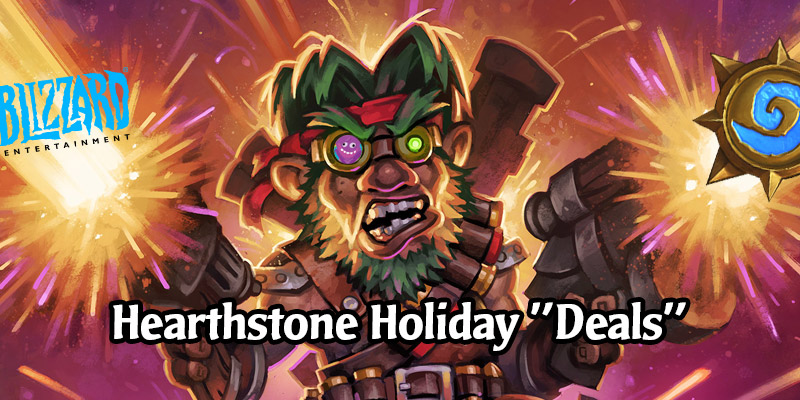 The Hearthstone Holiday Sale On Battle.net Isn't a Sale