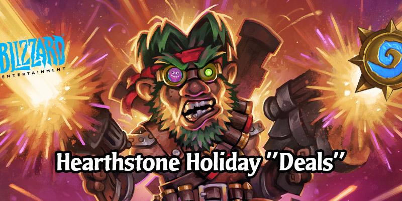 The Hearthstone Holiday Sale On Battle.net Isn't a Sale
