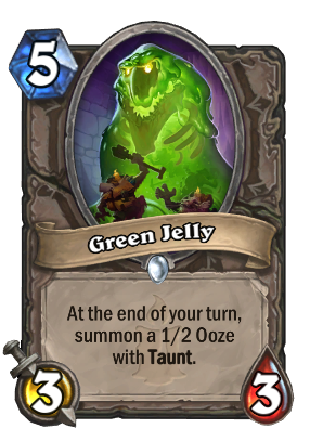 Green Jelly Card Image
