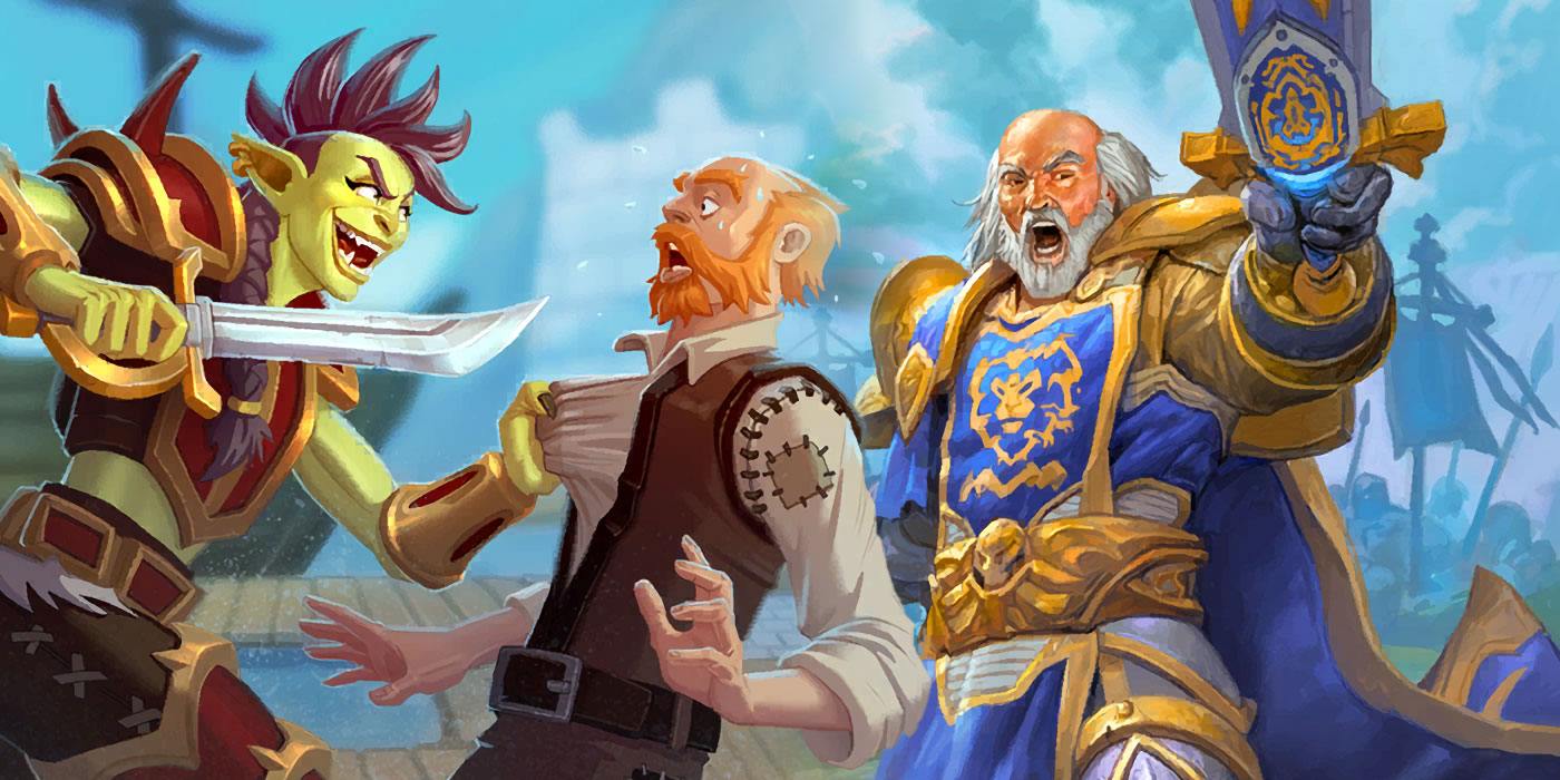 Reviewing Hearthstone's New Warrior Cards Arriving With United in Stormwind
