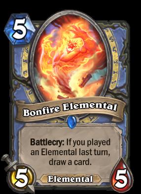 Bonfire Elemental Card Image