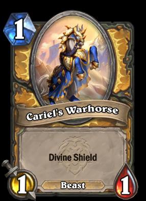 Cariel's Warhorse Card Image