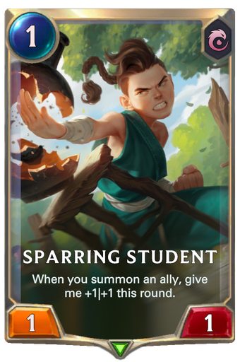 Sparring Student Card Image