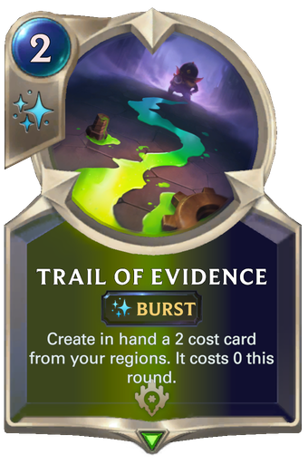 Trail of Evidence Card Image
