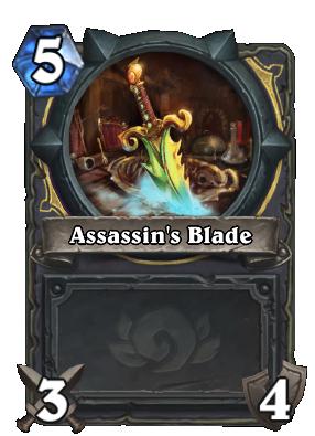 Assassin's Blade Card Image