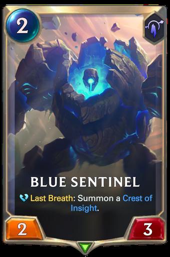 Blue Sentinel Card Image