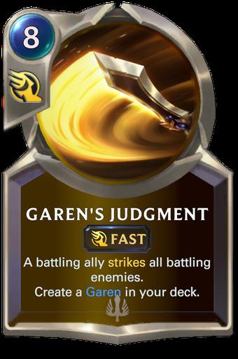 Garen's Judgment Card Image