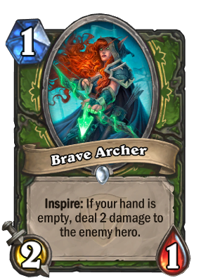 Brave Archer Card Image